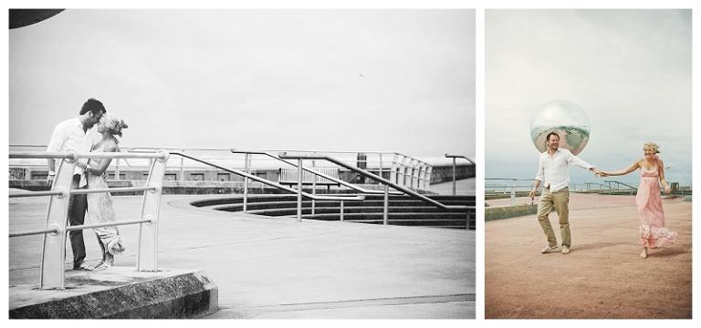Julia & Dan | a love shoot in Lytham St Annes