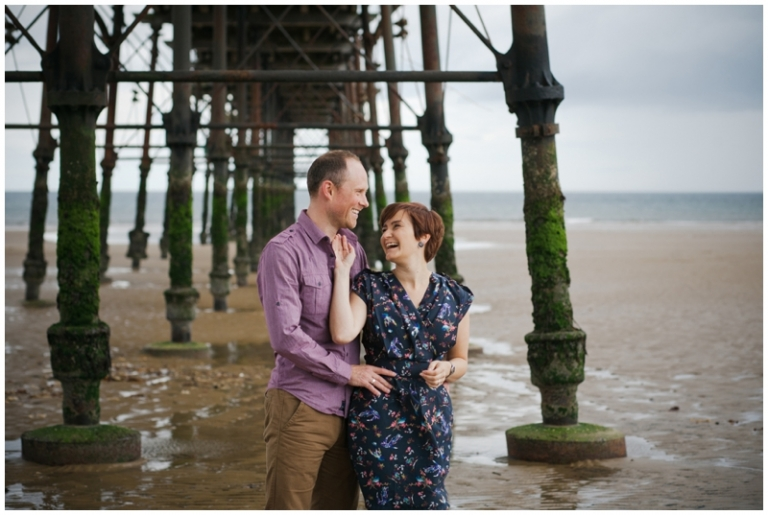 Michelle & Daniel  | a love shoot in saltburn-on-the-sea