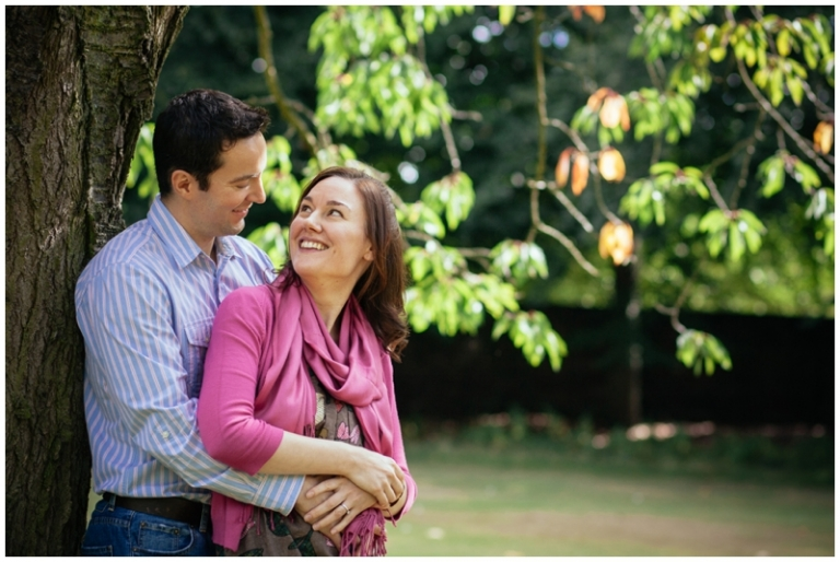 Geraldine & Fabrice | a love shoot in Calderstones Park, Liverpool