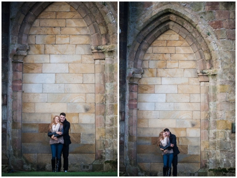engaged at Bolton Abbey