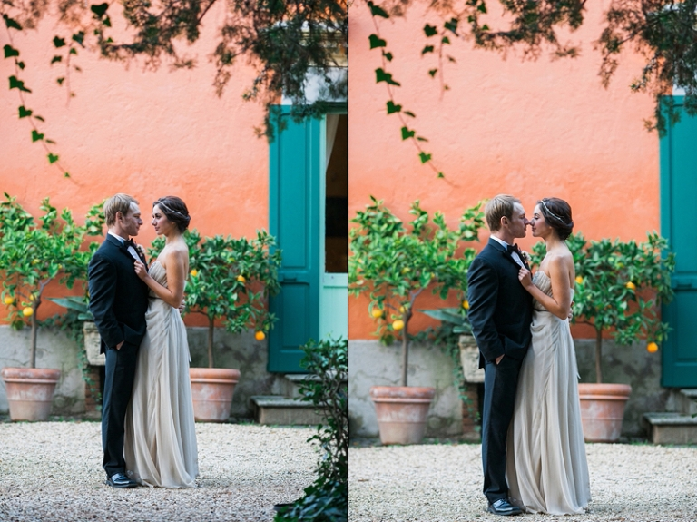 Italy wedding photography portraits