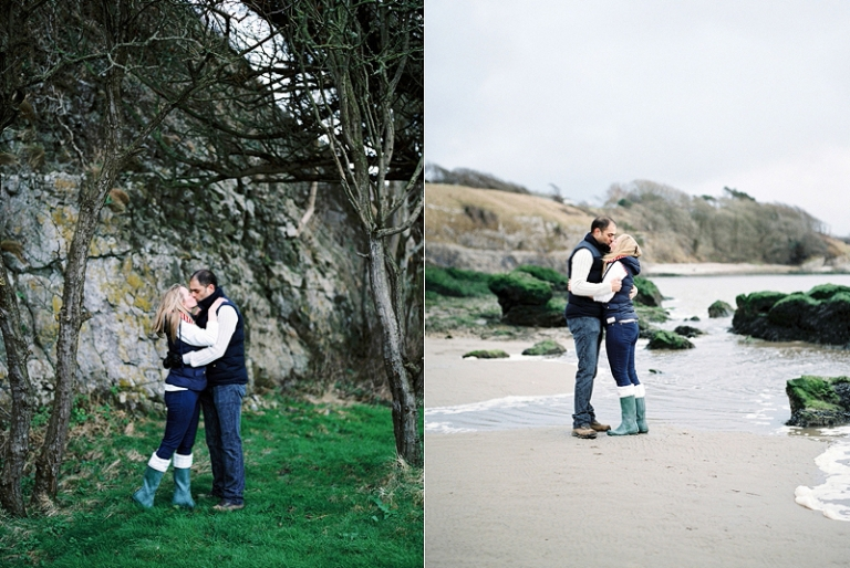engagement photography  | Rachel & Thapas  | Silverdale, Lancashire