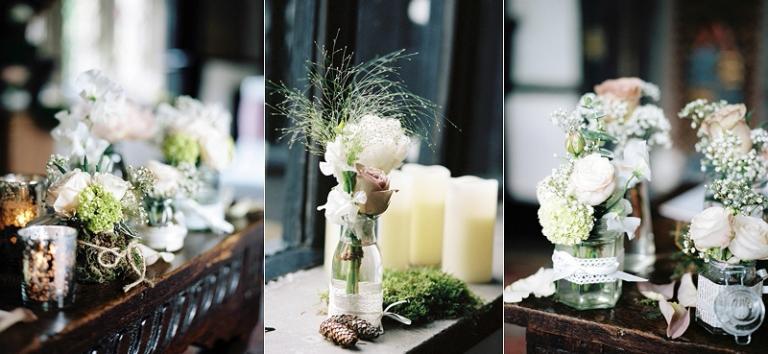 Samlesbury Hall wedding flowers