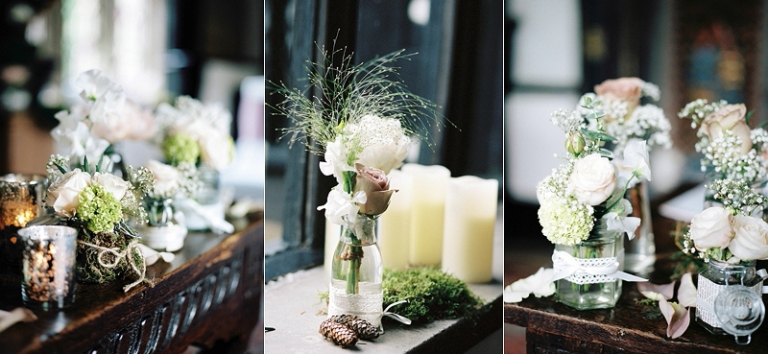 Samlesbury Hall wedding flowers