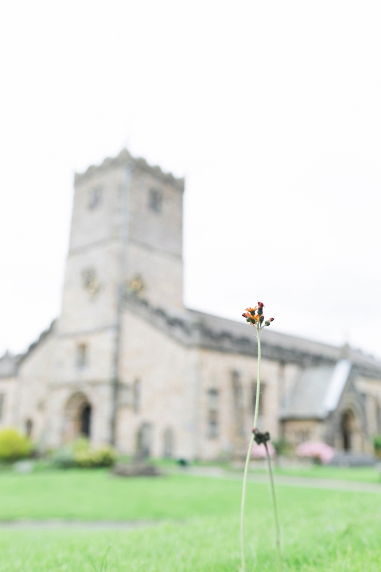 wedding at St Mary's church Kirkby Lonsdale wedding photographer