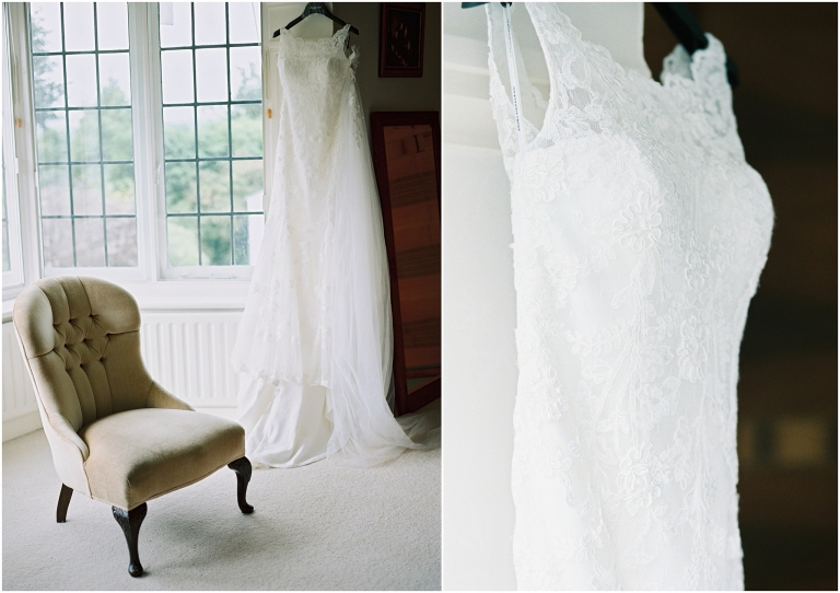 bride dress marquee wedding photography