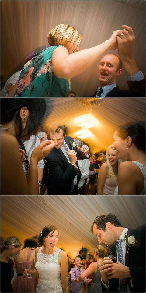 dancing marquee wedding photography
