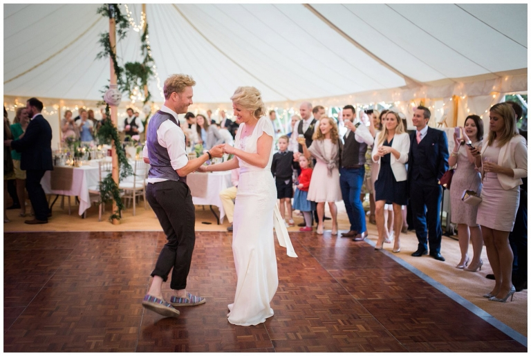 country marquee wedding