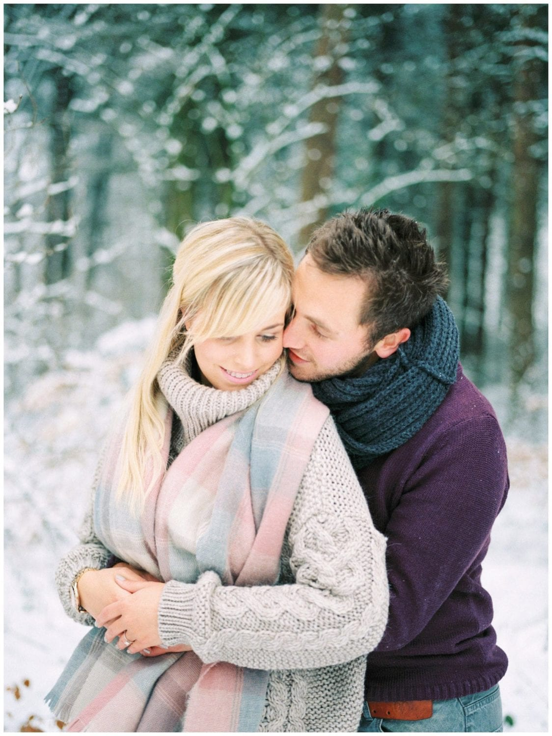 snow engagement shoot Chevin Park (1)