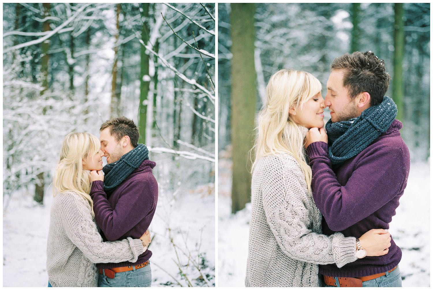 snow engagement shoot Chevin Park (3)
