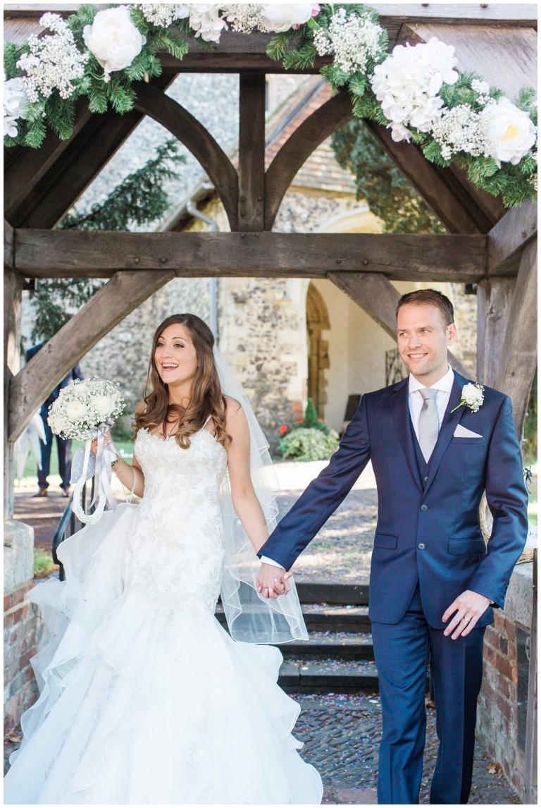 Eynsford Church wedding in Kent | Verity & Daniel | a Preview