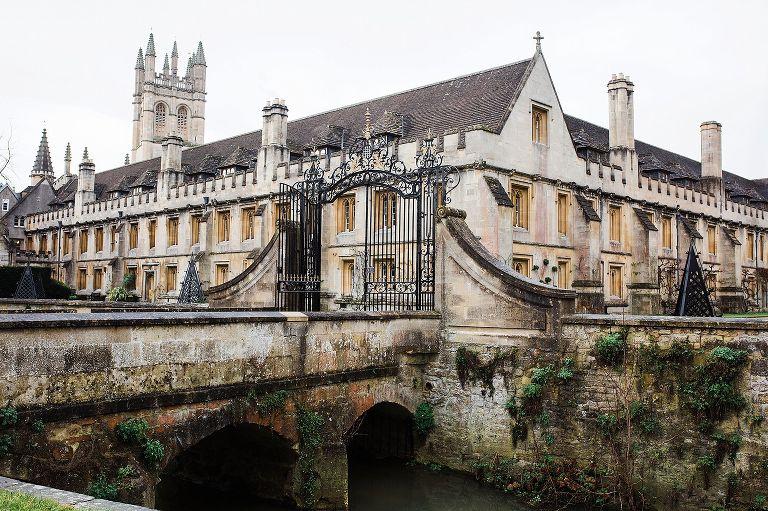 Magdalen College buildings