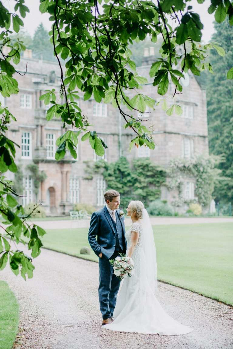 Browsholme Hall wedding – Abi & Mike – a preview