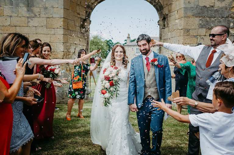 Byland Abbey wedding |sneak peek | Nina & Christian